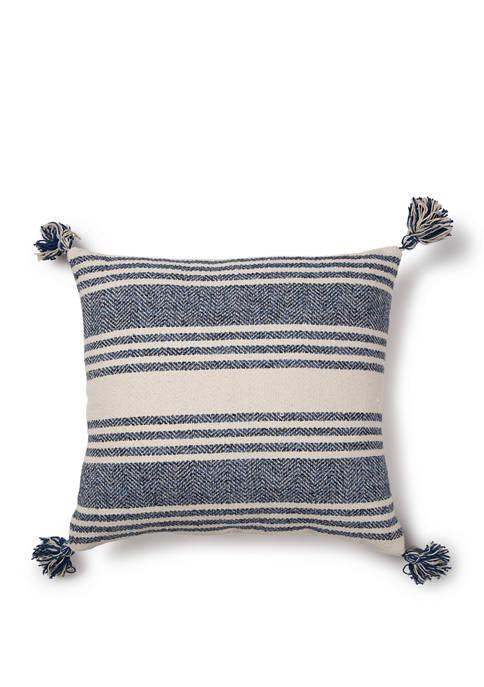 Indoor/Outdoor Textured Pillow