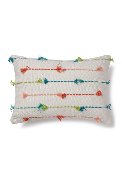 Brentwood Originals Multi Texture Indoor/Outdoor Pillow