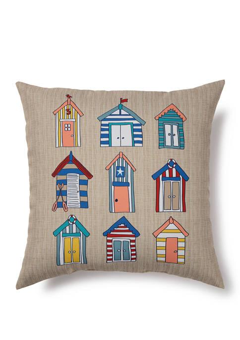 Beach House Indoor/Outdoor Pillow