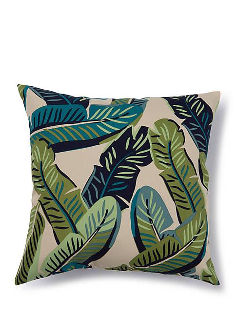 Brentwood Originals Banana Leaves Outdoor Pillow