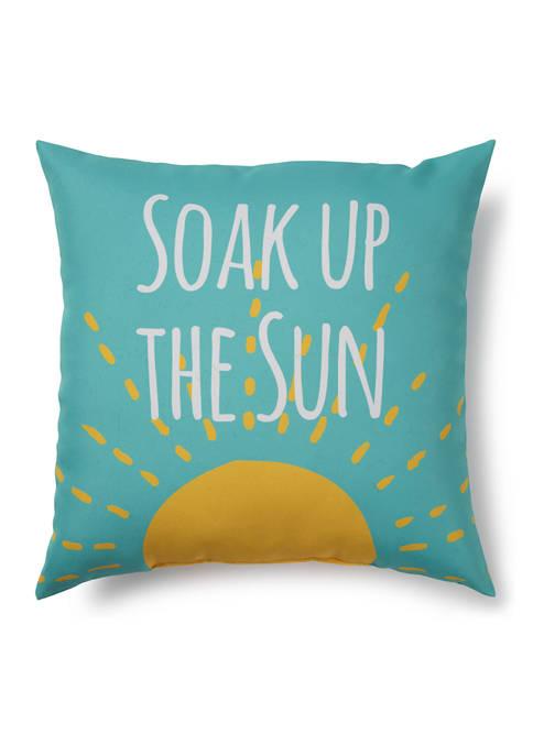 Soak Up The Sun Indoor/Outdoor Pillow
