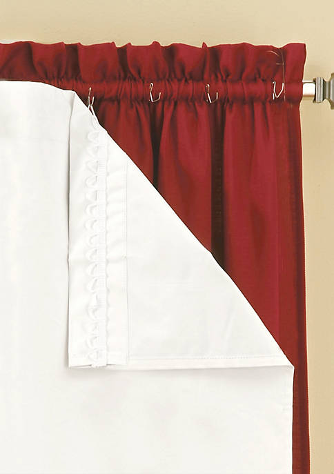 Blackout Thermaliner Curtain Panel Pair