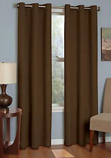 Microfiber Grommet Blackout Window Curtain Panel 42-in. x 84-in.
