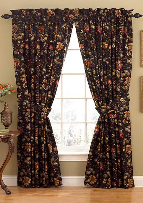 Felicite Noir Window Panel 50-in. x 84-in.