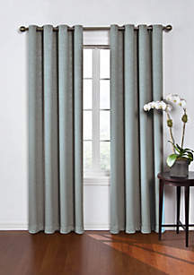 Round and Round Blackout Window Curtain Panel 52-in. x 63-in.