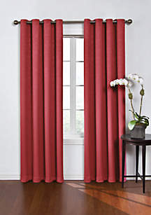 Round and Round Blackout Window Curtain Panel 52-in. x 63-in