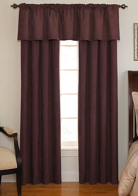 Room-Darkening Backtab Window Valance 42-in. x 18-in.