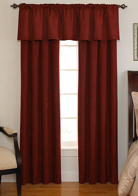 Curtain Fresh™ Room-Darkening Backtab Window Valance 42-in. x