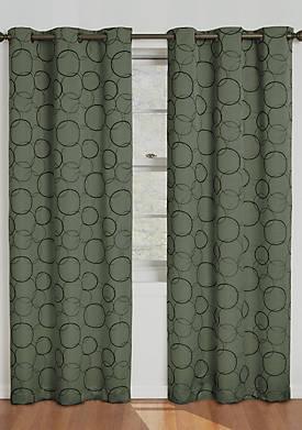 Sage Meridian Blackout Window Curtain Panel