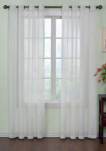 Odor-Neutralizing Sheer Voile Grommet Curtain Panel 59-in. x 84-in.
