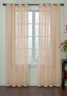 Curtain Fresh™ Odor-Neutralizing Sheer Voile Grommet Curtain Panel - Online Only