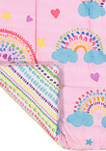 Spree Over The Rainbow Reversible Comforter Set