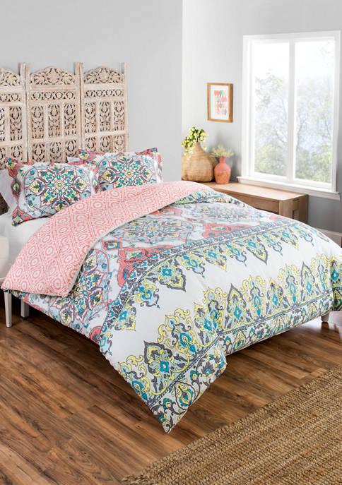 BOUTIQUE Rozella Reversible Comforter Set