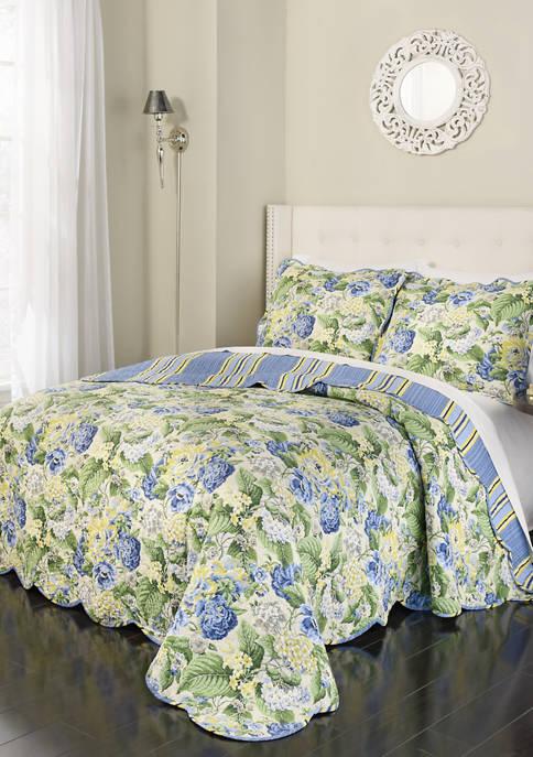 Floral Flourish Quilt Set