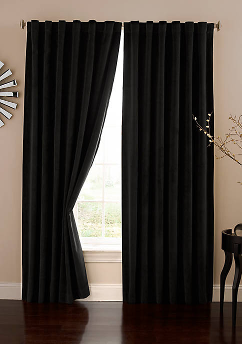 Absolute Zero® Velvet Blackout Home Theater Curtain Panel
