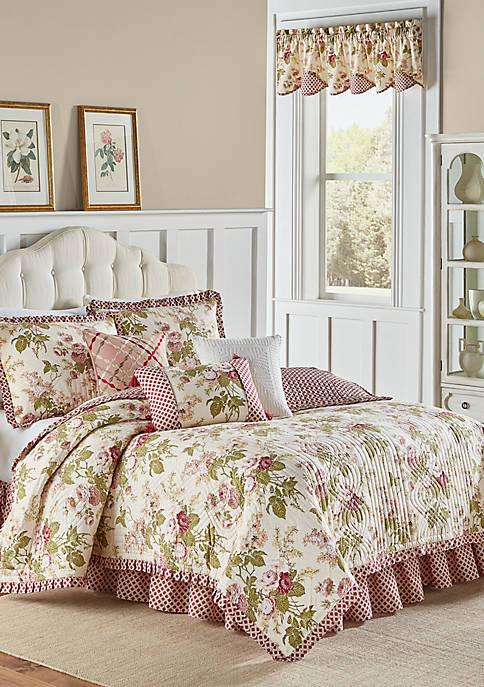 Waverly 174 Emma S Garden Quilt Set Belk