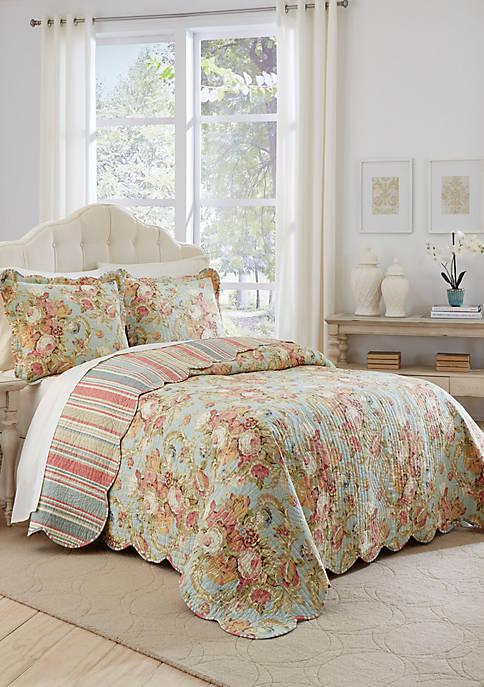 Spring Bling King 3-Piece Bedspread Set