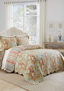 Waverly® Spring Bling King 3-Piece Bedspread Set
