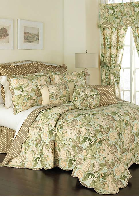 Garden Glory King Bedspread Set