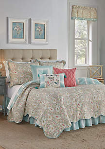 Waverly® Paisley Verveine Quilt Set