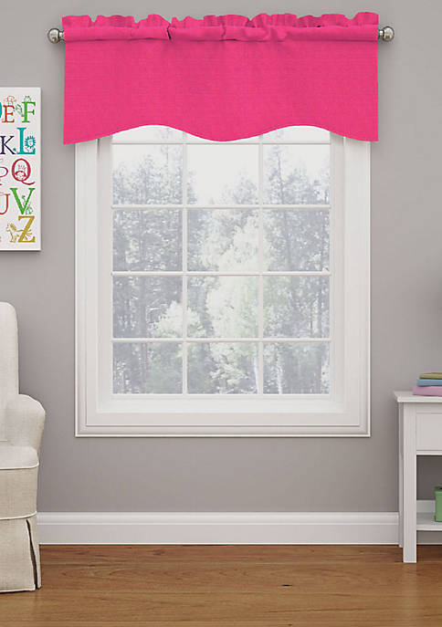 Eclipse Kendall Blackout Wave Curtain Valance
