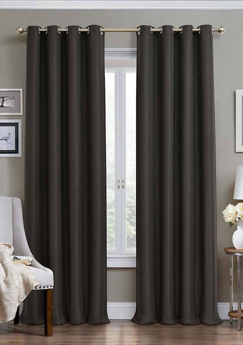 Wyndham Grommet Blackout Window Curtain Panel
