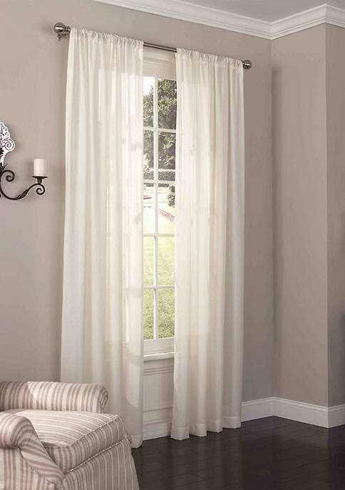 Eclipse™ Chelsea UV Light Filtering Window Sheer Curtain