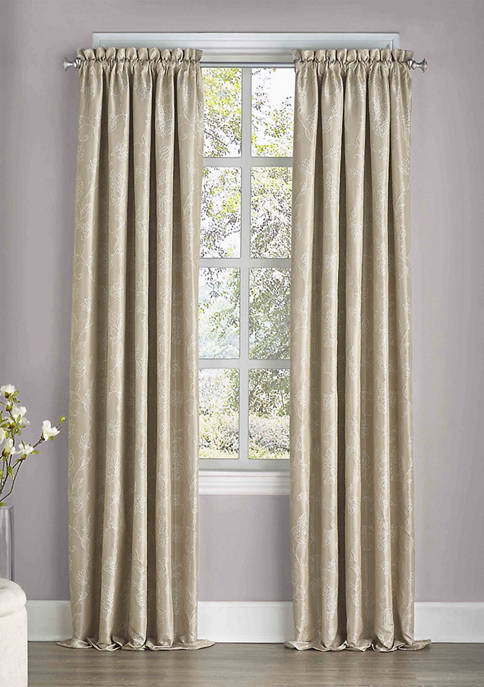 Eclipse™ Mallory Blackout Floral Curtain