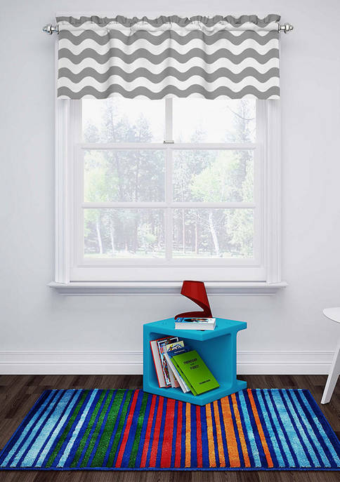 Eclipse™ My Scene Thermaback Blackout Wavy Chevron Valance