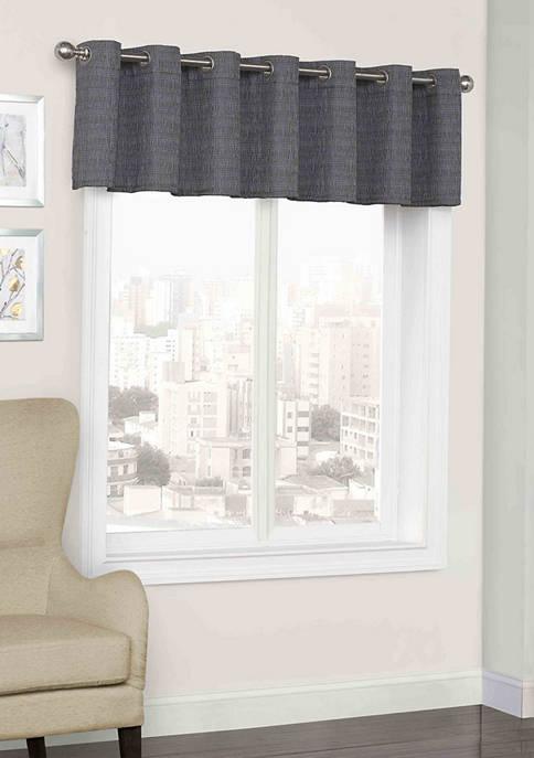 Trevi Blackout Grommet Window Valance