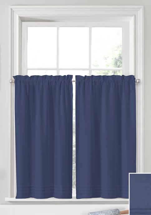 Window Solutions Kingsbury pleated Tier Pair
