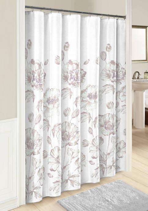 72 in x 72 in Jasmeen Shower Curtain