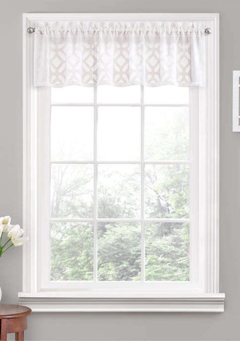 Vue Window Solutions Trellis Clip Valance