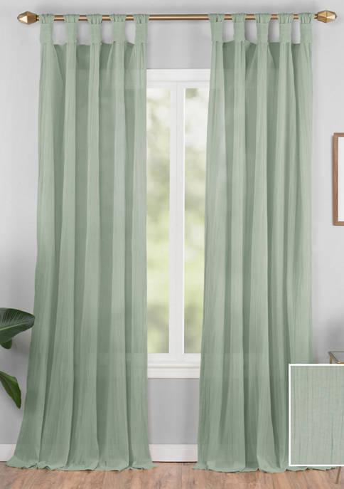 Vue Elements Priya Tab Top Window Curtain