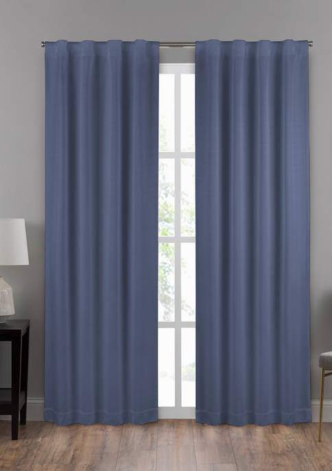 Eclipse Draft Stopper Summit Solid Window Curtain Panel