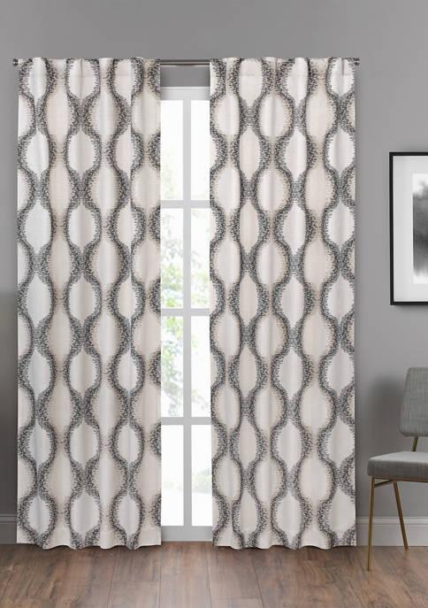 Summit Geo Window Curtain Panel