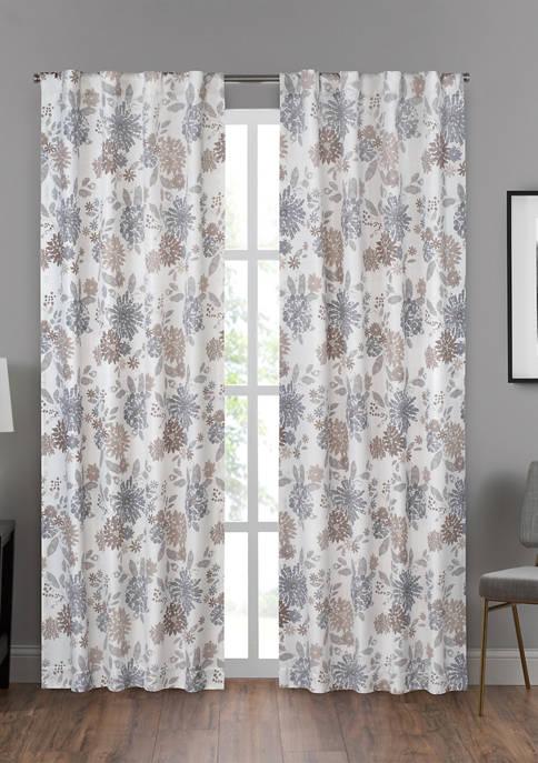 Summit Botanical Window Curtain Panel