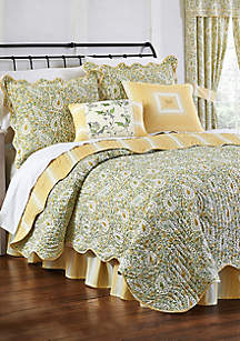 Waverly® Paisley Verveine Quilt Collection