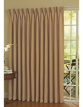 Thermal Patio Door Curtain Panel