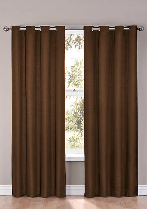 Cassidy Blackout Grommet Window Curtain Panel 52-in. x