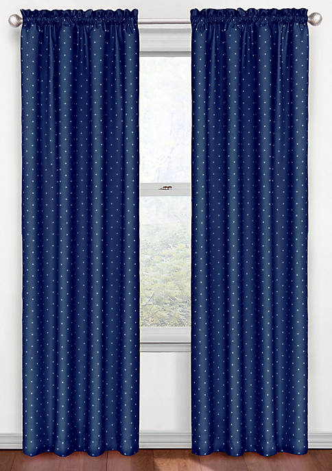Kids Polka Dot Blackout Window Panel