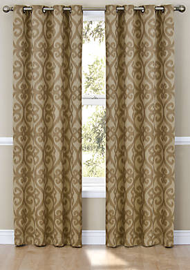 Patricia Blackout Grommet Window Curtain Panel 52-in. x 63-in.
