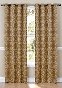 Patricia Blackout Grommet Window Curtain Panel 52-in. x 84-in.