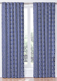 Waverly® Lovely Lattice Window Curtain Panel and Valance