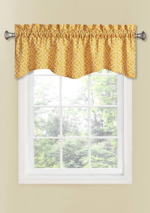 Lovely Lattice Window Valance 50-in. x 16-in.