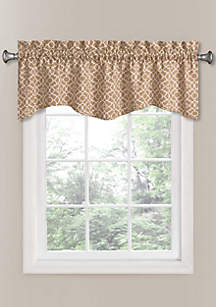 Lovely Lattice Window Valance 50-in. x 16-in.
