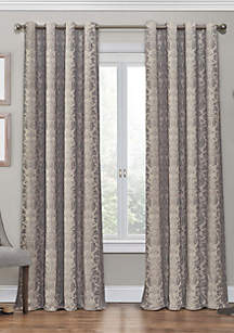 Nadya Print Thermalayer Curtain Linen