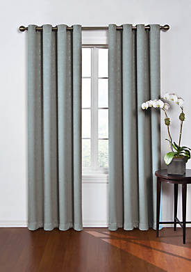 Round and Round Blackout Window Curtain Panel 52-in. x 84-in.