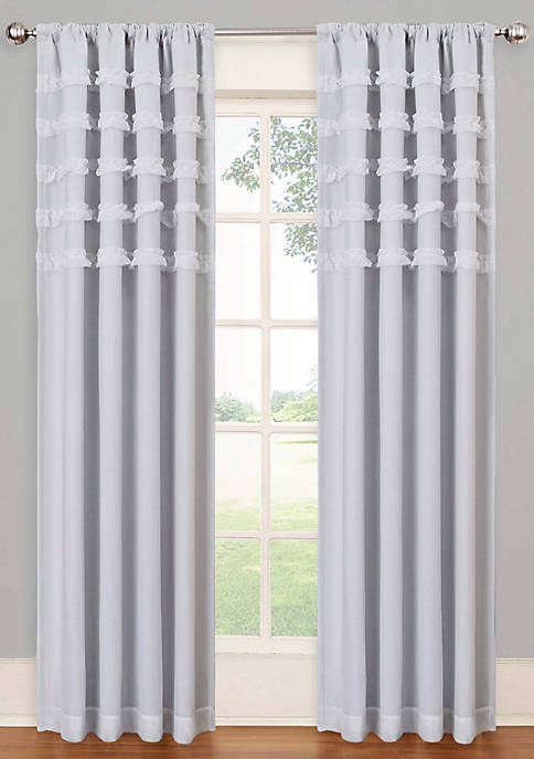 Eclipse™ Ruffle Batiste Blackout Window Panel