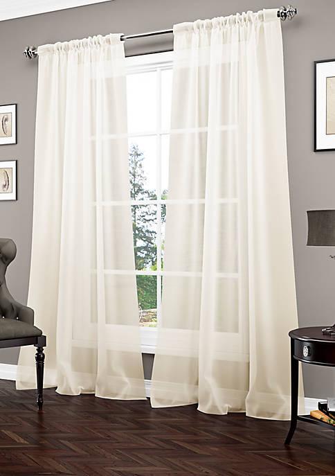 Carrington Luxury Sheer Window Panel